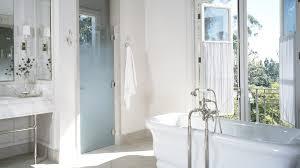 Interior Bathroom Doors by Bathroom Exterior French Doors Etched Glass Doors Modern