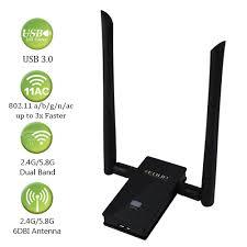 Usb Wifi Adapter For Faster Wifi Usb Wifi Usb Wifi Adapter 802 11ac 1200mbps Dual Band 2 4ghz 5 8ghz Usb