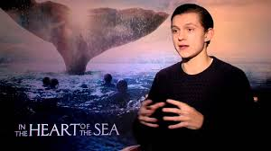 in the heart of the sea interview tom holland youtube