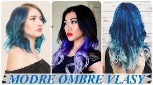 top modre ombre vlasy youtube