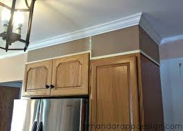how to install cabinets with uneven ceiling amanda rapp design add height to existing cabinets