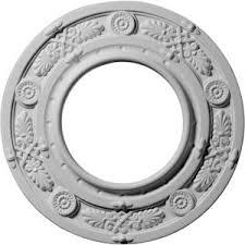What Size Ceiling Medallion For Chandelier 27 Off Cm38ol Orleans Ceiling Medallion Ekena Millwork