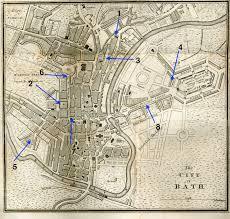 map uk bath austen in bath the paragon austenonly