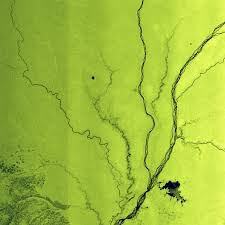 Congo River Map Space In Images 2004 11 Lake Tumba And Congo River