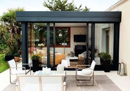 cuisine dans veranda salon de veranda luxe faire une véranda pour installer ma cuisine ou