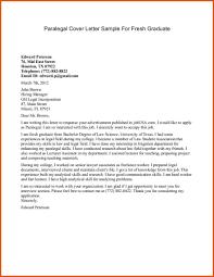 paralegal cover letter paralegal cover letter general resumes