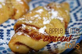 apple butter crescent rolls crystalandcomp