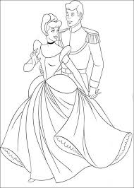 cinderella ball prince coloring cinderella pages