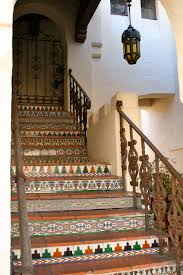 Spanish Style Courtyards by Spanish Tile And Wrought Iron Railing In Carmel Spanish Colonial