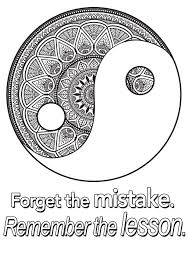 quote forget the mistake remember the lesson quotes coloring