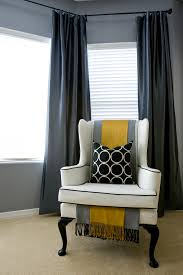 Wing Chairs Design Ideas Great Gray Wing Chair Slipcover Decorating Ideas Gallery In