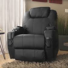 best choice products executive swivel massage recliner w control