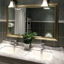 Bathroom Wall Mirror Ideas Bathroom Mirror Frames Ideas 3 Major Ways We Bet You Didn T