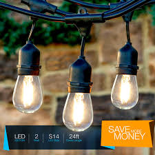 Commercial Led Light Strings by Brightech Store Brightech Ambience Pro Led Outdoor Weatherproof