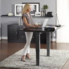 Sit To Stand Desks by Adjustable Height Desk For Home Office Home Design