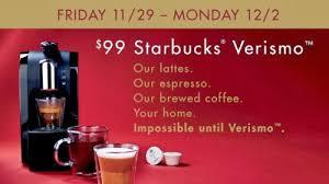 starbucks black friday canadian daily deals starbucks store black friday verismo 99