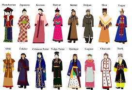 traditional clothing of different countries around the world