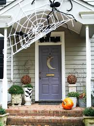 outdoor halloween decorations front porch decorating for halloween house design ideas