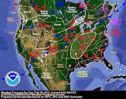 us weather map forecast today mild temperatures and weak weather impulses updraft minnesota