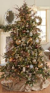 rustic trees gold treey decorations best