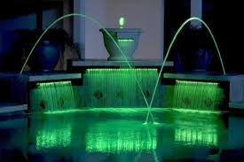 water fountain with lights lighted water fountain inground pool lights