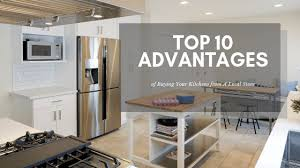 should i buy kitchen cabinets the top 10 advantages of buying your kitchen cabinets from a