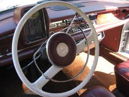 mercedes s230 area goes his own way in a 1960s era mercedes san