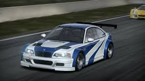 bmw m3 gtr e46 nfs shift 2 unleashed bmw m3 gtr e46 most wanted edition on mount