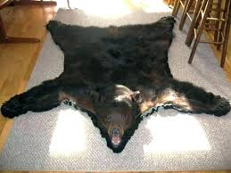 Moose Area Rugs Moose Area Rugs Polar Rug Skin Throw Cabin Size Of Teddy