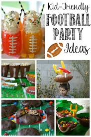 football party ideas football party ideas for kids not quite susie homemaker