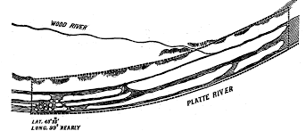 Platte River Map Kappler U0027s Map The Platte River Image From The Treaty With The