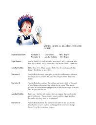 worksheets ameleia bedelia amelia bedelia reader u0027s theater