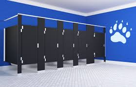 bathroom stalls 6 fancy design commercial bathroom stalls3 stalls