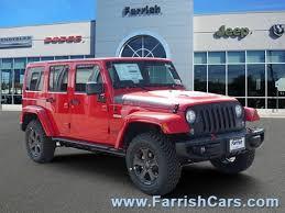jeep red 2017 new 2017 jeep wrangler jk for sale fairfax va