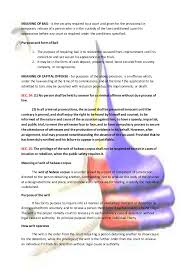 concept of bill of rights philippines