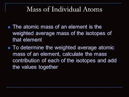 isotopes and mass number atomic number the number of protons in