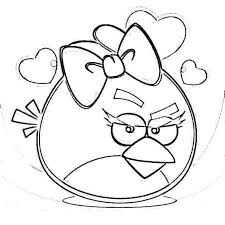 valentine angry birds coloring pages free coloring pages kids
