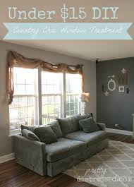 pretty distressed pin spired diy country chic window treatments