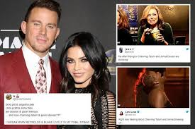 Channing Tatum Meme - channing tatum and jenna dewan fans react to shock split with