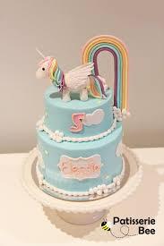 two tier rainbow u0026 cake tutorial youtube