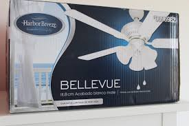 How To Install A Harbor Breeze Ceiling Fan Our Home From Scratch