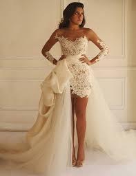 robe mari e robe mariée 2016 tulle détachable jupe robe de mariée courte