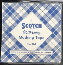 the history of industrial masking tape