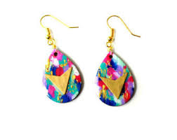 80s earrings 80s earrings etsy