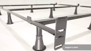 king size heavy duty 9 leg metal bed frame with headboard brackets