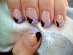 two toned french tip nails youtube