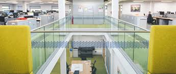 Glass Banister Uk Renowned Skanska Group Selects Q Railing Glass Banisters