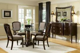 Luxury Dining Room Chairs Curved Armrests Ornamented Pea Green Stained Wooden Table Small