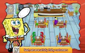 jeux de cuisine spongebob spongebob diner dash applications android sur play