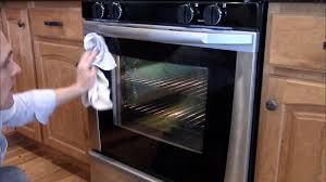 Glass In Toaster Oven How To Take Apart An Oven Door To Clean The Glass Youtube